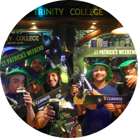 Trinity College Pub in Rome - Events