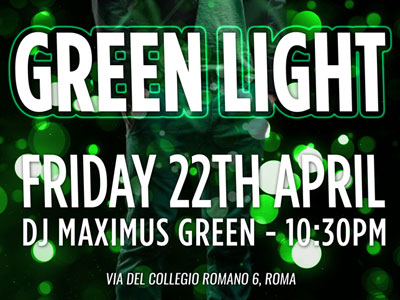 Green Light Music Night, 22th April