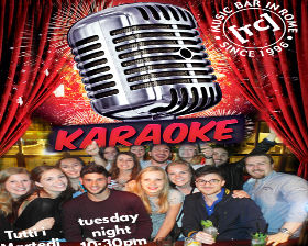 Karaoke night at Trinity College Pub