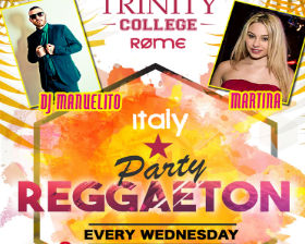 Reggaeton at Trinity College Pub